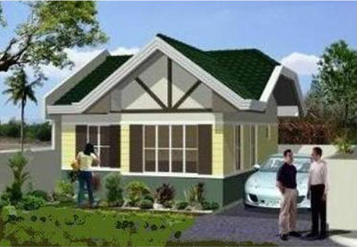 Bungalow House With Tu0026B Kitchen Living Dining Area 2 Bedrooms U0026 Provision For 1 Parking DESIGN SPECIFICATION EXTERIOR ROOF GA Tilespan Roofing